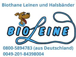 Biothane, Leinen, Halsbänder, Hundezubebühr